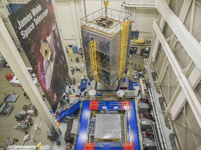 美国宇航局将为韦伯太空望远镜做振动测试