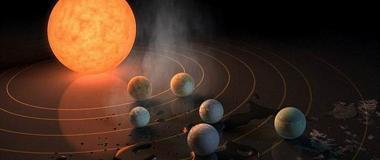 Trappist-1星系行星距离紧密 这将增大生命传播概率