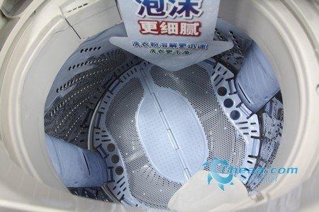 衣物放心洗 松下泡沫净波轮洗衣机推荐