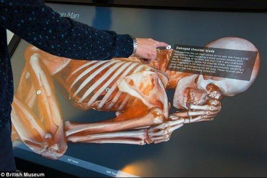 揭秘5500年前木乃伊谋杀案 3D验尸现背部刀伤