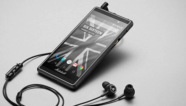 Marshall推全球最酷Android手机
