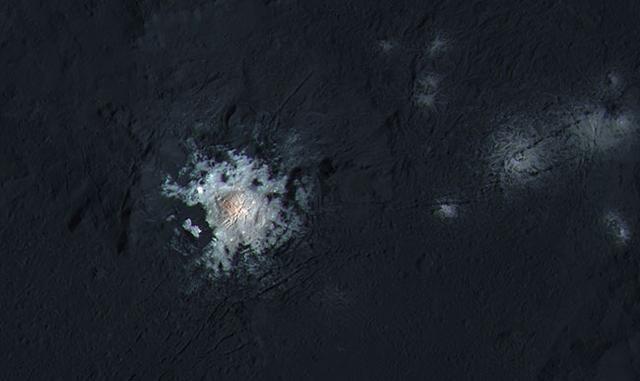 NASA在离地球最近的矮行星上都发现了什么?