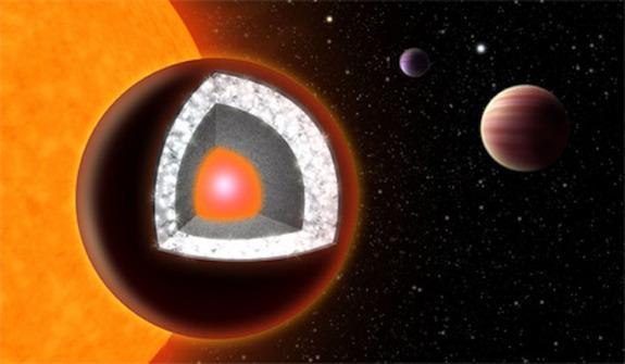 """最近研究发现宇宙中存在很多""""钻石星球"""""""