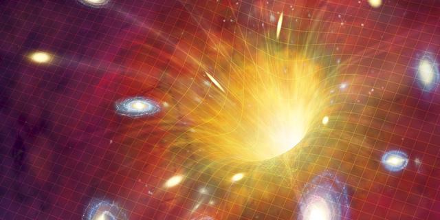 宇宙130亿年的演化浓缩成五分钟视频