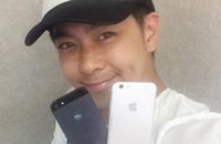 """又拿机模骗人?林志颖微博晒出""""iPhone 6"""""""