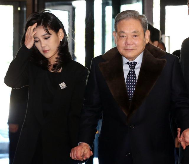家族内斗?传李健熙长女欲与三星副副总裁离婚