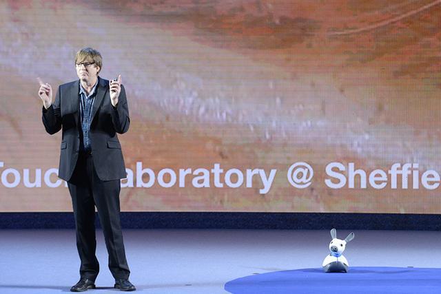 谢菲尔德大学Prescott:把佛法和机器人融合