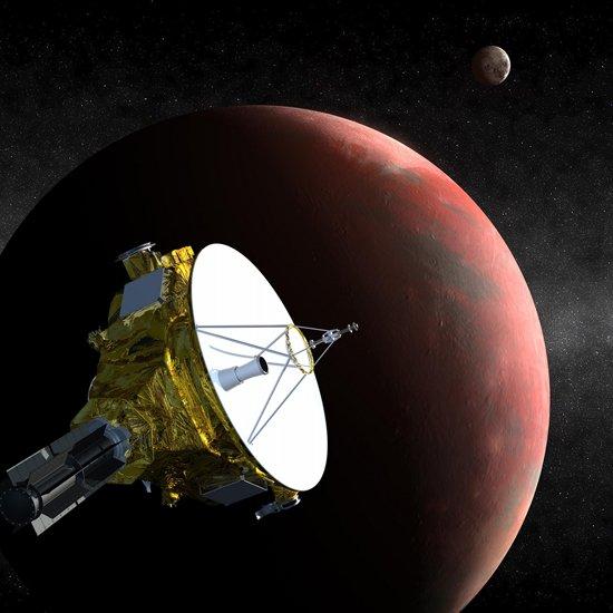 冥王星表面以下165公里处可能存在地下海洋