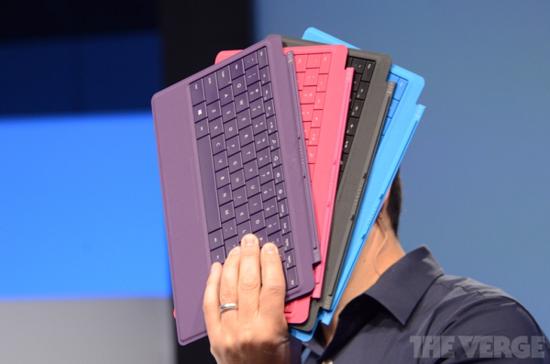 微软发布Surface Pro 2/Surface 2及多款配件