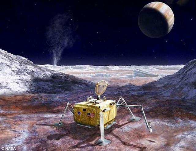 美国宇航局拟发射探测器勘测木卫二宜居条件