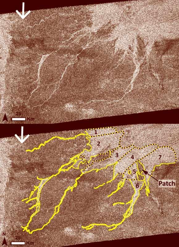 科学家或找到土卫六灾难性甲烷雨的证据