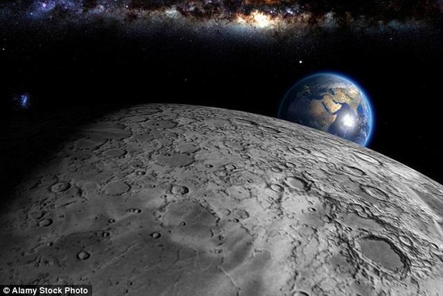 没有月球就没有地磁场 地球也就不会有生命