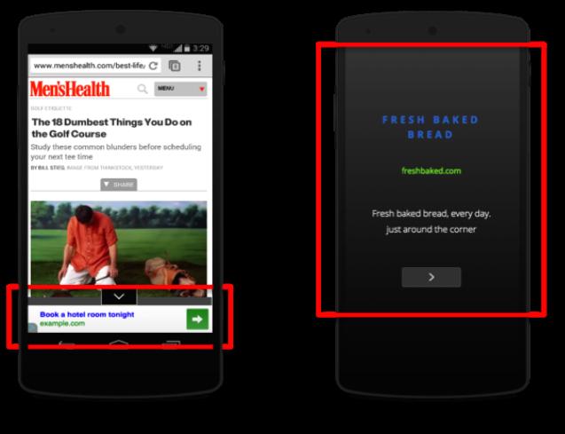 谷歌发布一系列新移动广告形式和工具