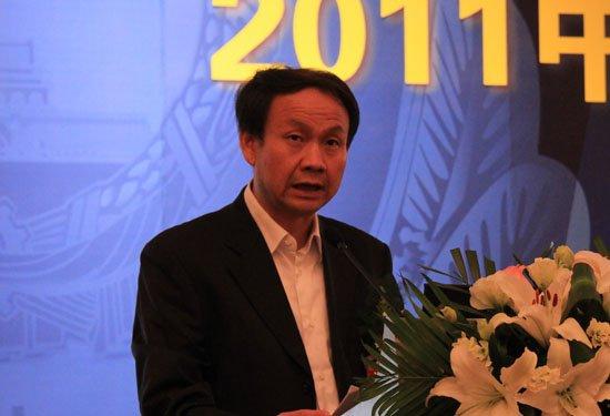 图文:公安部网络安全保卫局副局长邓宏敏讲话