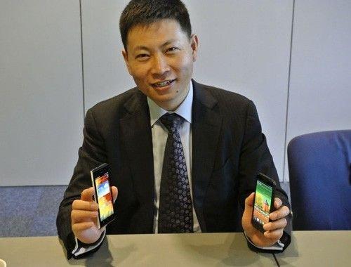 华为终端余承东:转变思维主动接触消费者