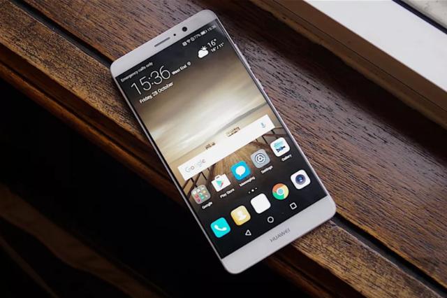 """华为Mate 9号称""""全球最强智能手机"""" 剑指苹果三星"""