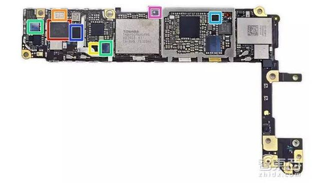 iphone 6s终极拆解 揭秘玫瑰金内部结构