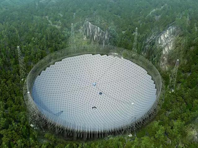 """FAST望远镜 用地球最大的""""耳朵""""聆听宇宙"""