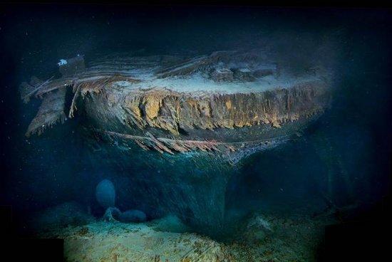 泰坦尼克号海难一百周年 残骸照首次自由公开