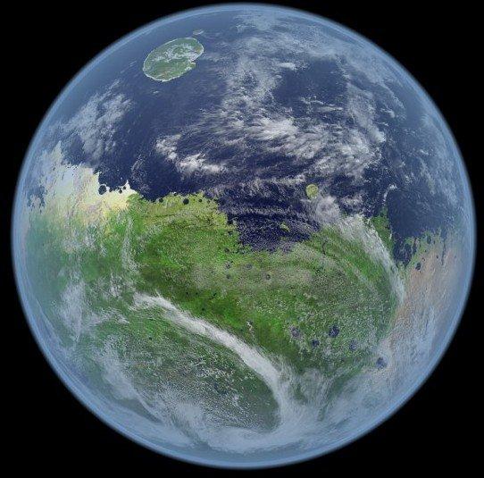 人类或源于火星吗?数十亿年前火星陨石坠地球