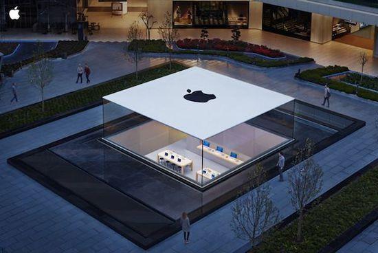 有聊丨苹果零售店如何变成最赚钱的零售空间?