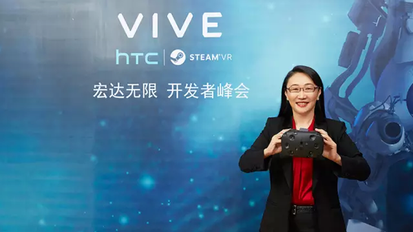 HTC董事长王雪红:Vive销量远超14万台