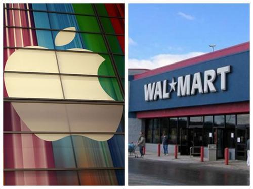 苹果沃尔玛为员工加薪 股价走势冰火两重天