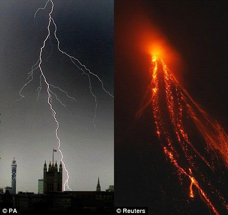 科学家发现:火山爆发和闪电促地球生命形成