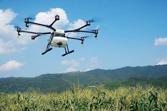 大疆推出农业植保无人机