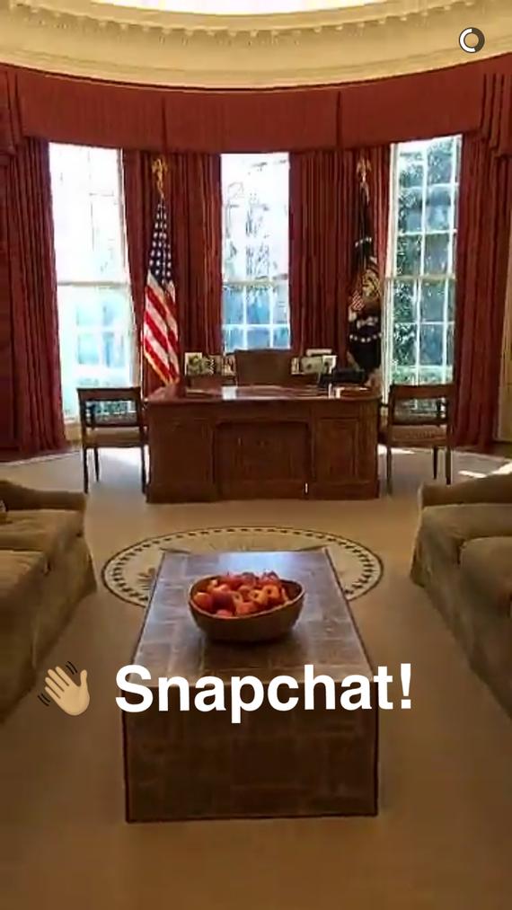奥巴马又玩新潮:白宫进驻阅后即焚平台Snapchat