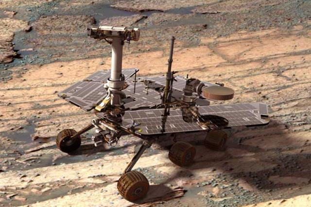 NASA机遇号火星车开始研究新的火星物质
