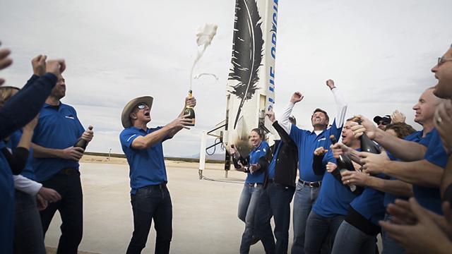 创造历史:蓝色起源实现火箭重复使用