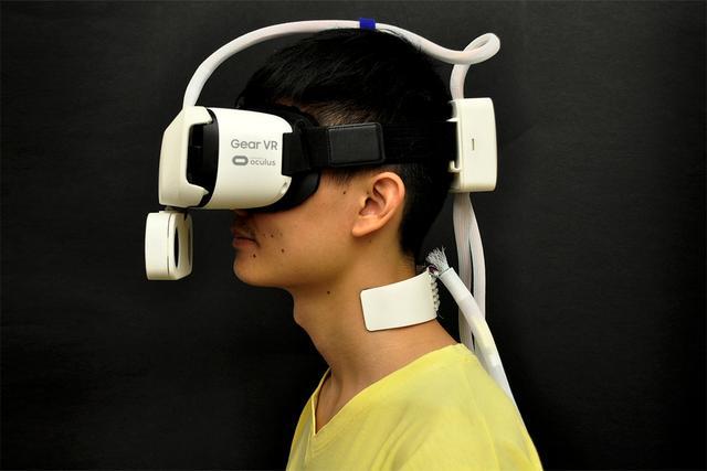 有了这些配件,可以在VR天气中感受阳光和刮风