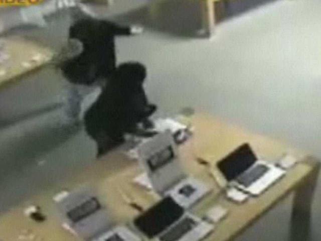 苹果零售店遭武装分子抢劫 现金全部被抢