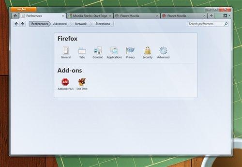 Mozilla 火狐 4.0最新用户界面赏(组图)