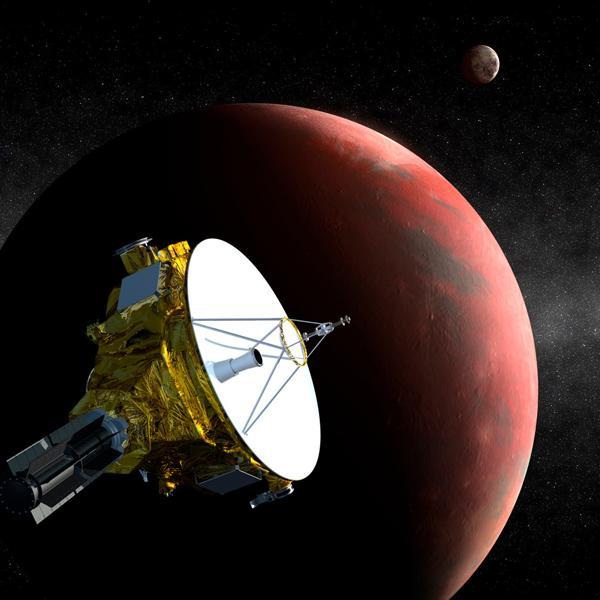 美国太空探测器一路狂奔 冲刺飞往冥王星