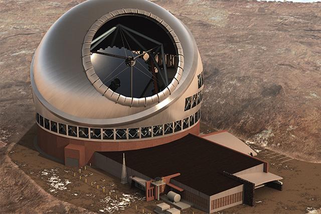 夏威夷法院暂时中止三十米望远镜的建造