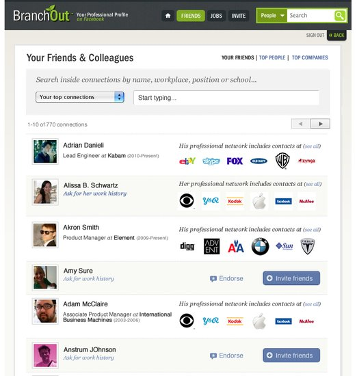 BranchOut推新工具 帮企业在Facebook挖人才