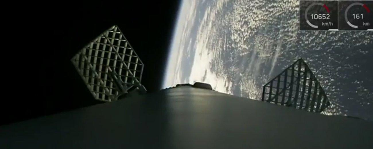 第七次!SpaceX今晨成功发射一箭十星 并再次完成火箭回收