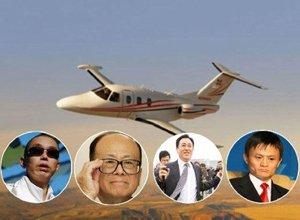 科技大佬们的私人飞机