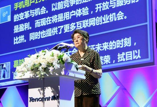 中国互联网协会理事长胡启恒院士