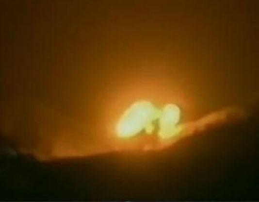 长三乙火箭首飞失败画面曝光:坠山坡爆炸