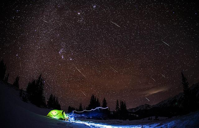 双子座流星雨今晚登场 15日凌晨2时为极大期