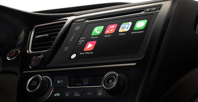 苹果发布CarPlay服务 车联网大战爆发