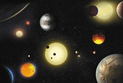 """美媒:""""开普勒""""又发现10颗""""宜居""""行星"""
