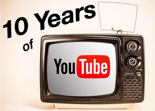 YouTube10岁了! 未来10年将面临更激烈竞争