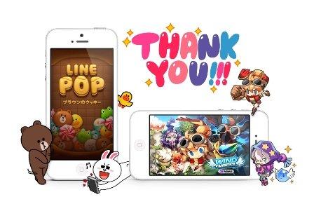 日本类微信应用Line游戏平台下载量破1.5亿次