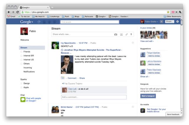 Facebook超越的对手们