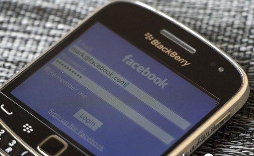 Facebook上周会晤黑莓商讨收购可能性