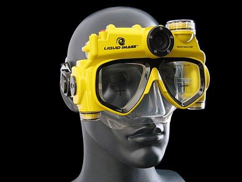 带摄像功能的潜水镜问世:轻松拍摄水下风光